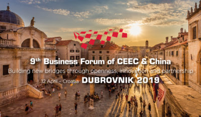 9th Business Forum of Central and Eastern Europe Countries & China